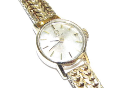 18ct yellow gold vintage Omega watch