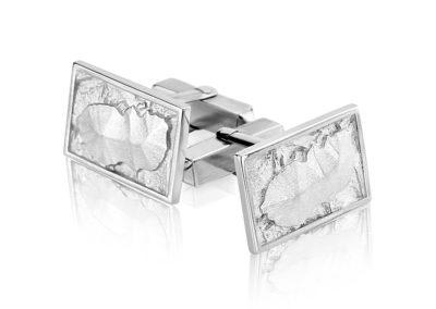 Silver Arran cufflinks