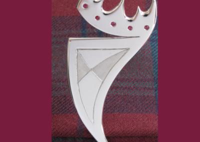 University kilt pin